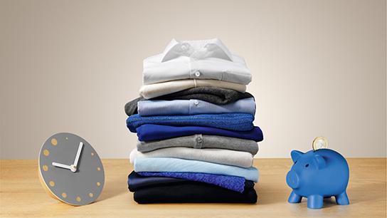 Thời gian giặt linh hoạt, chăm sóc áo quần tốt hơn